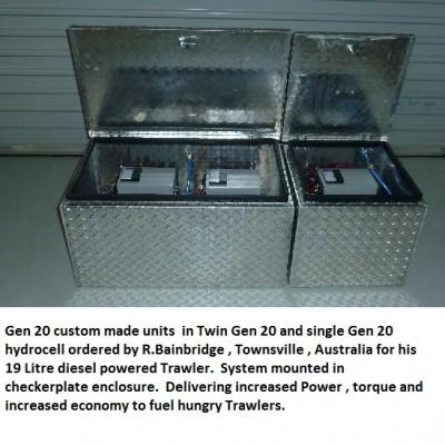 Gen 20 systems for R.Bainbridge