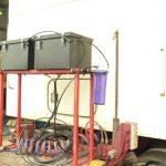 twin Gen 20 mounted on a 16 Litre truck